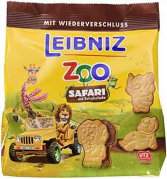 1- Leibniz Zoo Safari mit Schokolade 100g
