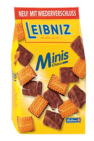 Leibniz Minis Choco (125g)