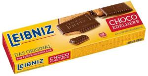 2- Leibniz Choco Edelherb Das Original mit Feiner Schokolade 125g