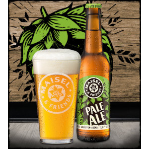 Maisel & Friends Pale Ale (PA) Alk 5.2% vol 33cl
