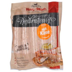 Klaas + Pitsch Rostbratwurst mit Käse 500g