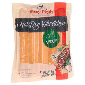 2- Klaas + Pitsch Delikatess Hot Dog Würstchen