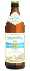 Bayreuther Bierbrauerei Hell Bier Alk. 4,9% vol 50cl x 4er