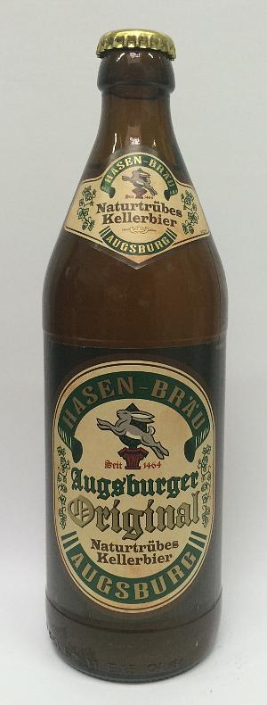Hasen Braü Augsburger Original Naturtrübes Kellerbier 5.4% Alk. - 50