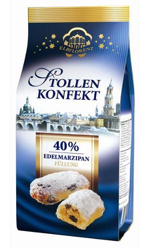 Elbflorenz Stollen Konfekt 40% Edelmarzipan (350g)