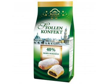 Elbflorenz Stollen Konfekt 40% Mohn-Marzipan 350g