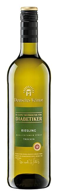 Deutsches Weintor DIABETIKER Riesling trocken 2016 Alk. 12,0% Vol