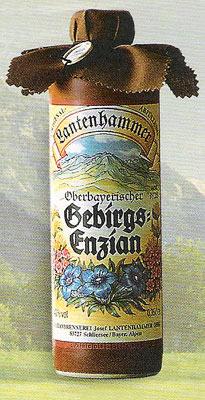 Lantenhammer Oberbayrischer Gebirgsenzian 40% (0,35l)
