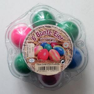 Ostern Bunte Eier aus Bodenhaltung