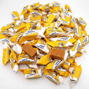2- Meine Kleine Kuh Bonbons Milch Karamellen 1kg für ca. 83 Stück