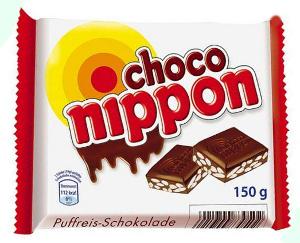 Nippon Choco Nippon tafel 150g