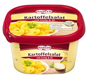 Nadler Kartoffelsalat Essig und Öl 500g
