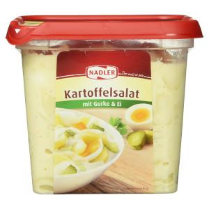 2- Nadler Kartoffelsalat mit Ei und Gurke 1000g