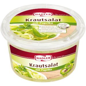 Nadler Frischer Krautsalat mit Paprika 400g
