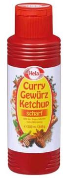 Hela Gewürz Ketchup Curry Scharf 300ml