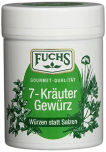 4- Fuchs 7 Kräuter Gewürz 50g