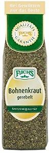 2- Fuchs Bohnen-Kraut gerebelt 30g