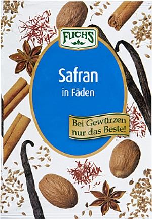 Fuchs  Safran Fäden 0.1g