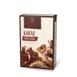 Sarotti Kakao Feines Pulver zum Kochen, Backen und Desserts 125g