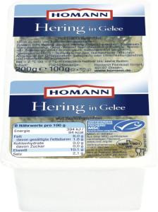 Homann Hering in Gelee 2 x 100g