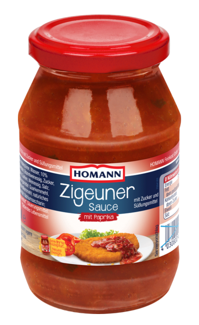 Homann Zigeuner Sauce mit Paprika 500ml