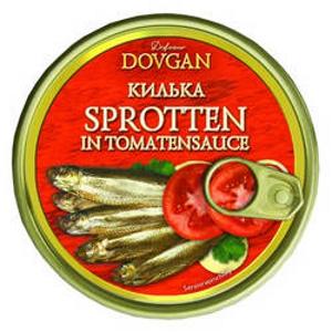 Dovgan Riga Sprotten in Tomatensauce 240g