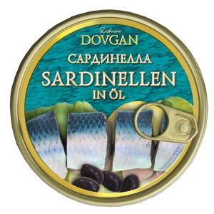 Dovgan Sardinelle in Öl 240g