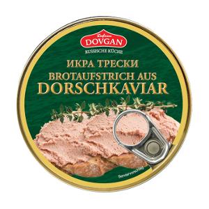 Dovgan Brotaufstrich aus Dorschkaviar 160g