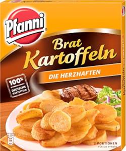 Pfanni Brat Kartoffeln Die Herzhafen 400g für 2 Portionen
