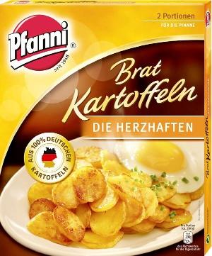 Pfanni Bratkartoffeln, die Klassischen (400g)