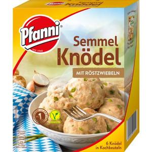 Pfanni Semmel Knödel mit Röstzwiebeln 200g für 6 stück