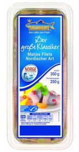 Friesenkrone Der Grosse Klassiker Matjes Filets Nordischer Art 350g