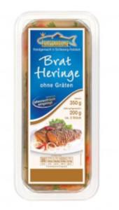 Friesenkrone Bratheringe ohne Gräten Fisch 350g