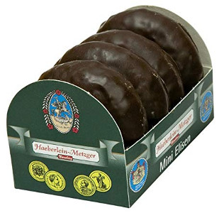 Haeberlein-Metzger Mini Elisen mit Schokolade 50g
