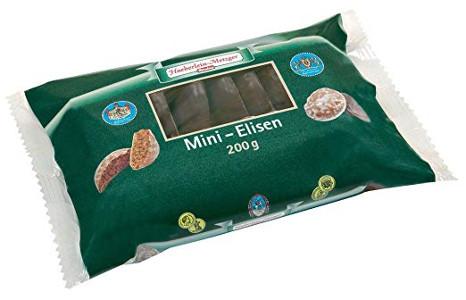 6- Haeberlein-Metzger Mini Elisen Lebkuchen 2 Sorten 200g