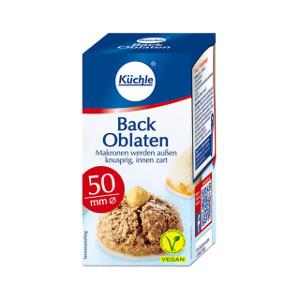 Küchle Back Oblaten 50mm für 100er
