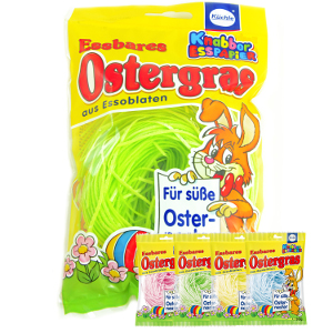 Küchle Essbares Ostergras grün aus Essoblaten 30g