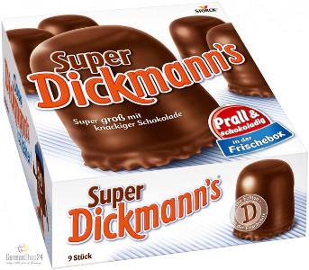 Dickmann's Super 250g für 9er
