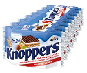 Knoppers x8 - 200g