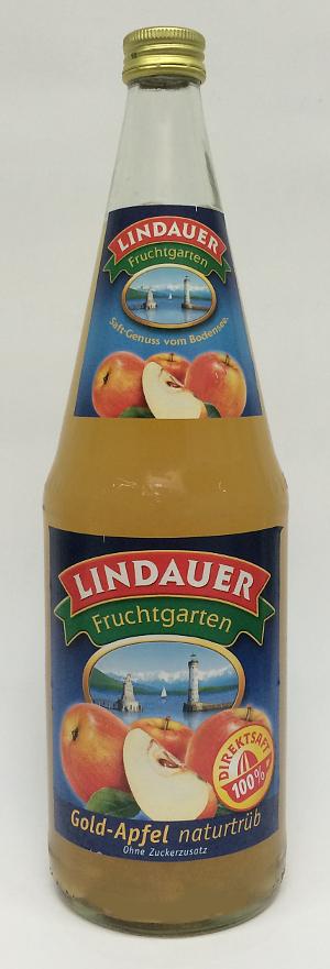 Lindauer Gold Apfel Naturtrüb 1l