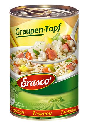 Erasco Graupen-Topf 400g