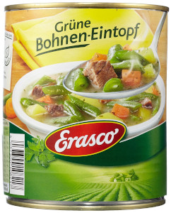 Erasco Grüne Bohnen-Topf mit erntefrischem Gemüse 800g