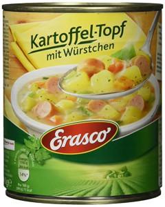 Erasco Kartoffel-Topf mit Würstchen 800g