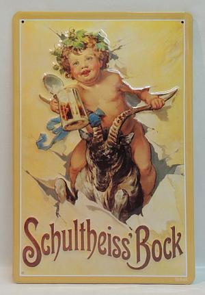 Plakat Schultheiss Bock