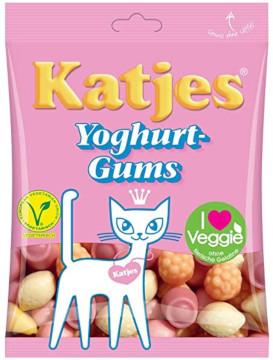 Katjes Veggie Yoghurt-Gums OHNE TIERISCHE GELATINE (200g)