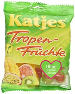 Katjes Tropenfrüchte ohne Fett 200g