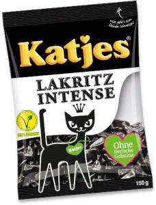 Katjes Lakritz Intense 150g