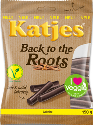 Katjes Back to the Roots Lakritz (150g)