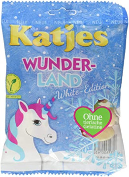 Katjes  Wunder-Land  White-Edition 200g