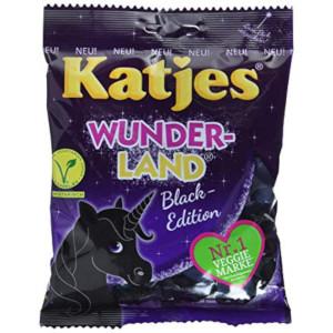 Katjes Wunderland - Black Edition 200g